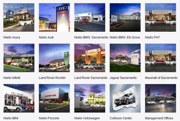 The Niello Company Think Niello Sacramento Acura Audi Bmw