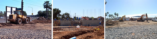 Construction at 3210 Auburn Boulevard