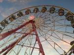 The big Ferris wheel