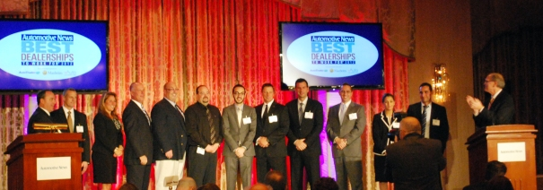 2012 Best Dealerships To Work For - Top Ten