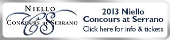 2013 Niello Concours at Serrano