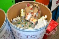 A Drive to Give bins