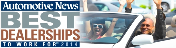 Best Dealerships to Work For 2014
